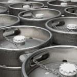 Beer barrels — Stock Photo #3664664