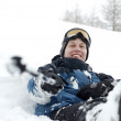Skier — Stock Photo #3682237