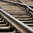 Stock Photo: Rails
