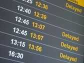 Delayed — Stock Photo