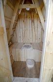 Ahşap tuvalet — Stok fotoğraf