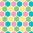 Honeycomb pastel background — Stock Photo