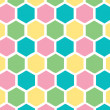 Stock Photo: Honeycomb pastel background