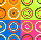 Background with new circles pattern — Stock Photo