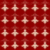 Vintage red background pattern — Stock Photo