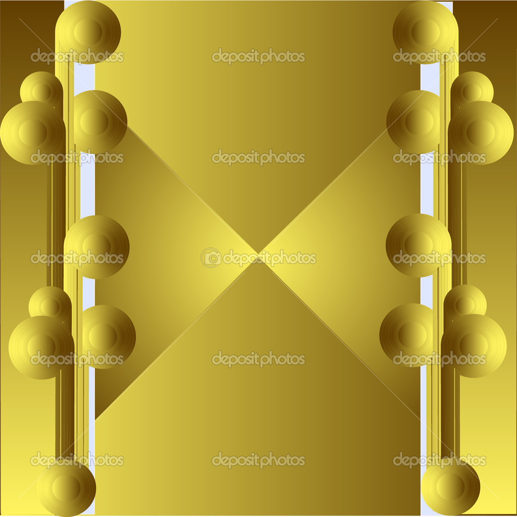 Art deco golden background — Stock Photo #3313289