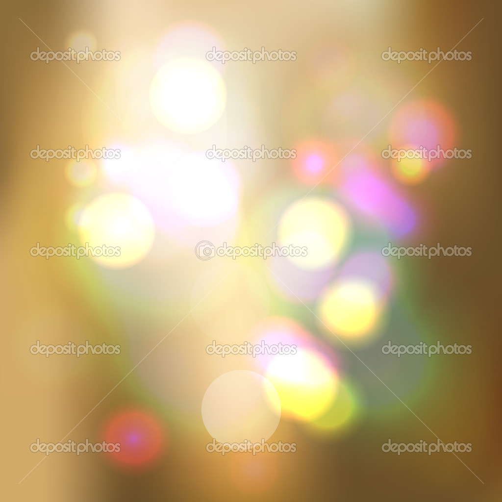 Colored lights on cream background  Stock Photo #3313370