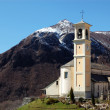 Stock Photo: Catholic church, Trarego, Italy