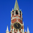 Hours on the Spassky tower — Stock Photo