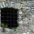 Royalty-Free Stock Photo: Window of old prison from stontes