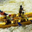 Stock Photo: Kayak-paddling