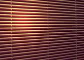 Sun-protection jalousie — Stock Photo
