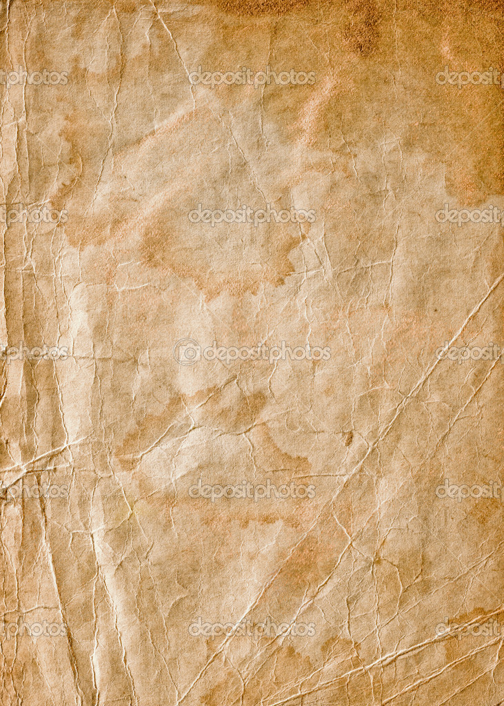 Old collapsing paper with cracks and scratches — Stock Photo #2796812