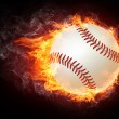 Stock Photo: Baseball Ball