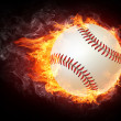 Baseball Ball - Stock Photo