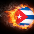Cuba Flag — Stock Photo