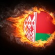 Stock Photo: Belarus Flag