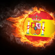 Stock Photo: Spain Flag