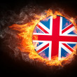 United Kingdom Flag - Foto de Stock