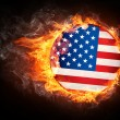 USFlag — Stock Photo #3056391