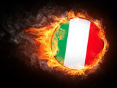 Bandeira da Itália — Fotografia Stock