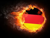 Germany Flag — Stock Photo
