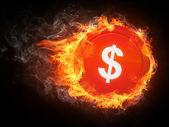 Tecken dollar — Stockfoto