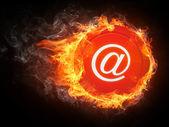 отправить по электронной почте. — Стоковое фото