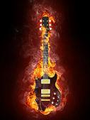 Electric Guitar — Stock fotografie