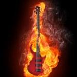 Electric Bass Guitar — Stock Photo