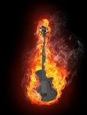 Guitarra elétrica — Fotografia Stock