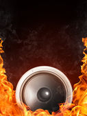 Acoustic Loudspeaker — Stock Photo