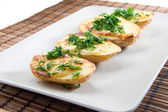 Baket potatoes — Stock Photo