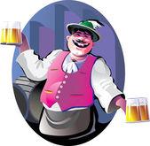 Bartender — Stock Vector