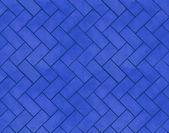 Tileable Blue Brick Texture — Stock Photo