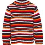 ������, ������: Orange knit jumper sweater isolated