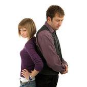 Sad couple — Stock Photo