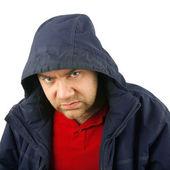 Anger man portrait — Stock Photo