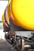 The railway tank — Stock Photo