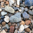 River stones close up — Stock Photo