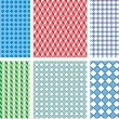 Seamless pixel pattern - Stock vektor