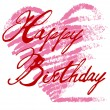 Royalty-Free Stock Vektorov obrzek: Happy birthday card