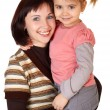 Happy mother with little daughter — Stock Photo #3367188