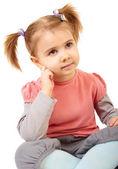 Little funny girl — Stock Photo