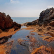 Landscape with sea and rocks — Stock Photo