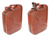 Rusty Gas Can — Stock Photo