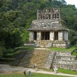 Panorama of Palenque - Stock Photo