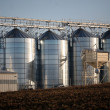Stock Photo: Landscape with silo