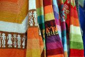 Colorful details of market in San Cristobal de l — Stock Photo