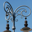 Old style street lamp in Brno — Stock Photo